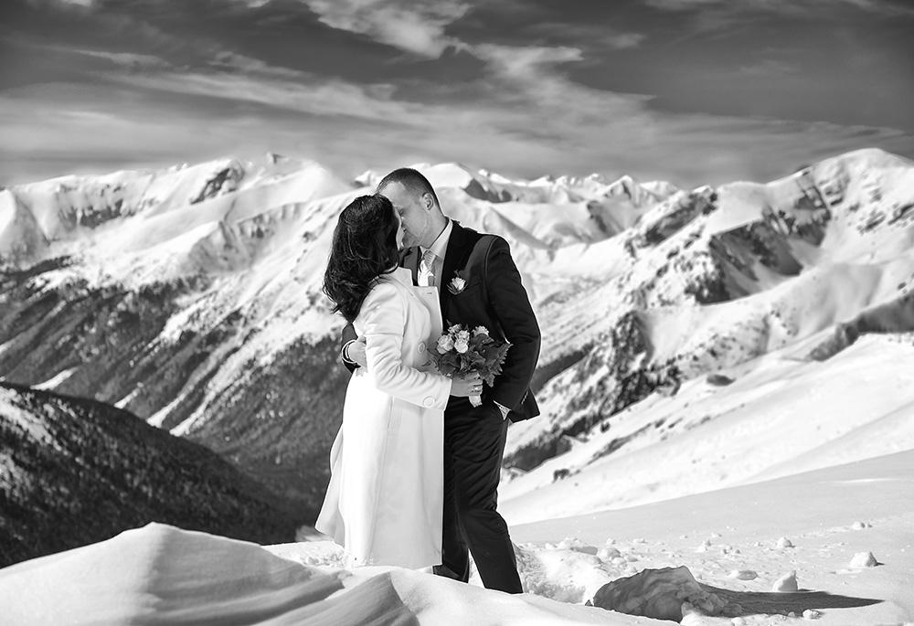 Zimowa sesja ślubna w Tatrach_2