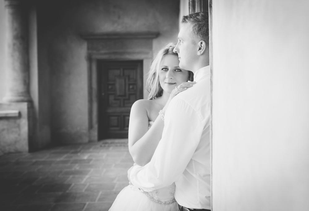 Justyna i Mateusz - fotografia śluba Baranów Sandomierski-3