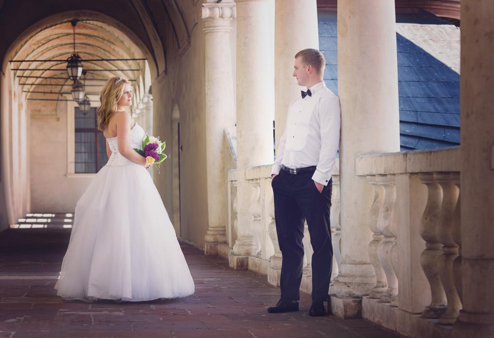Justyna i Mateusz - fotografia śluba Baranów Sandomierski-4