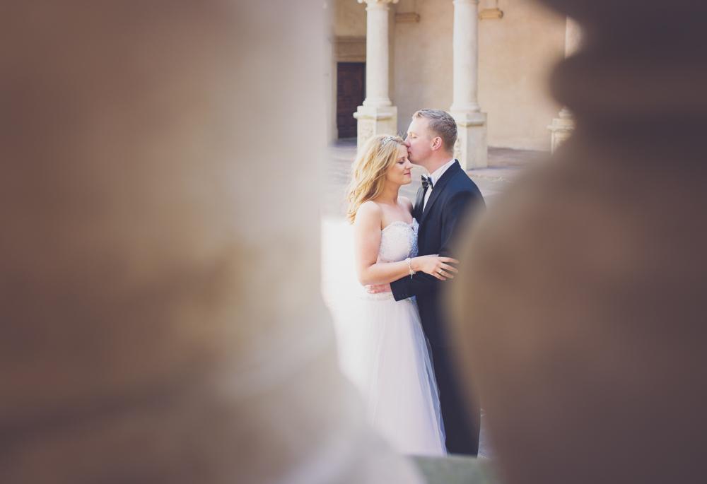 Justyna i Mateusz sesja ślubna w Baranowie-3