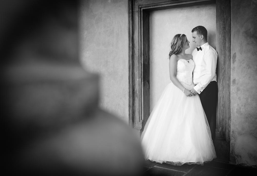 Justyna i Mateusz sesja ślubna w Baranowie