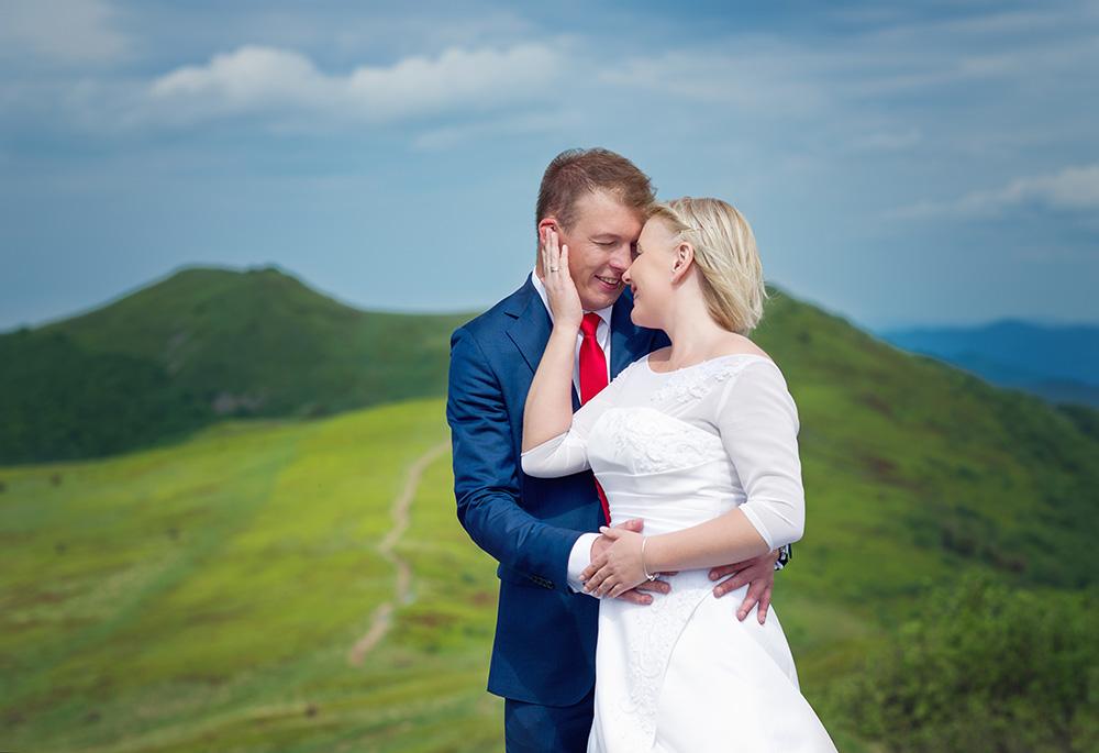 Regina i Olo - sesja ślubna w Bieszczadach-1