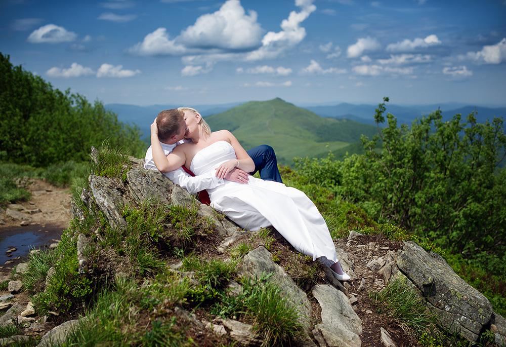 Regina i Olo - zdjecia ślubne w Bieszczadach