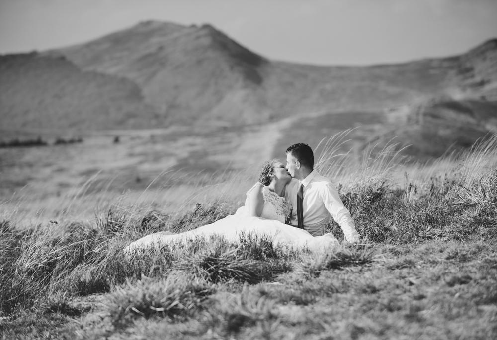 Joanna i Dawid - sesja ślubna w Bieszczadach 03