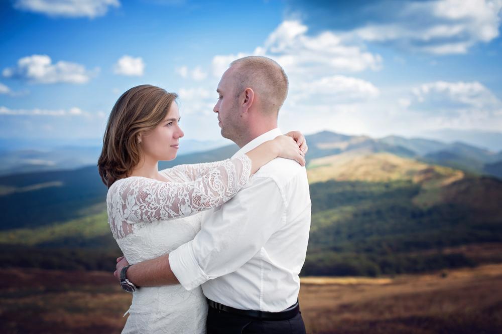 plener ślubny w Bieszczadach - Zuza i Paweł 10