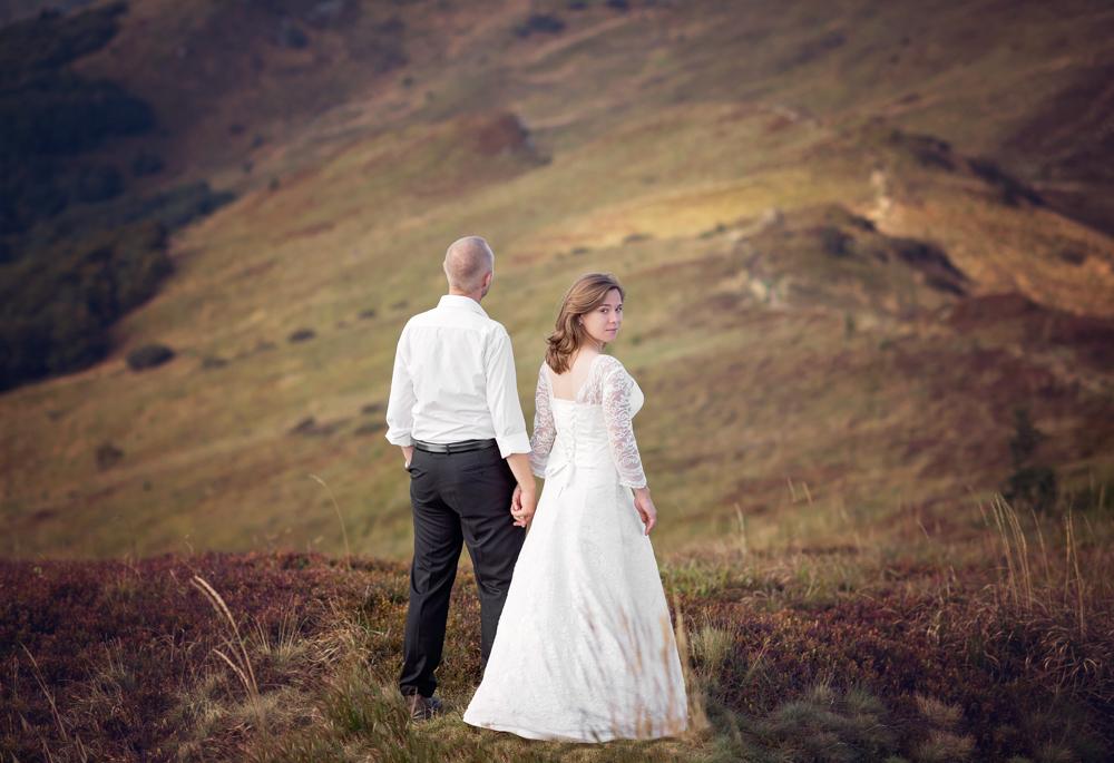 plener ślubny w Bieszczadach - Zuza i Paweł 13