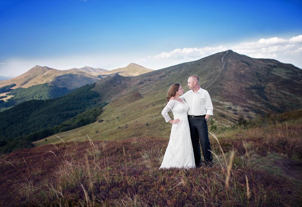 plener ślubny w Bieszczadach - Zuza i Paweł 8