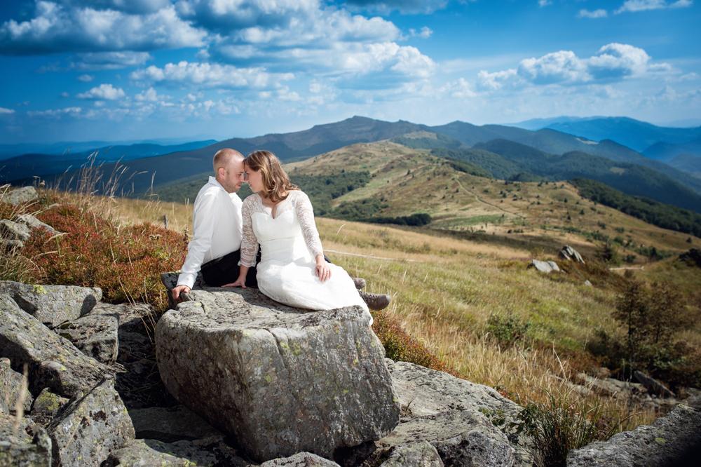 sesja ślubna w Bieszczadach - Zuza i Paweł 11
