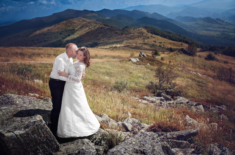 sesja ślubna w Bieszczadach - Zuza i Paweł 4