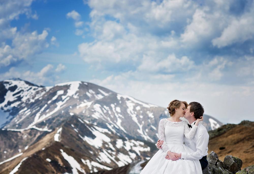 Sesja ślubna w Tatrach - Liliana i Piotr 1