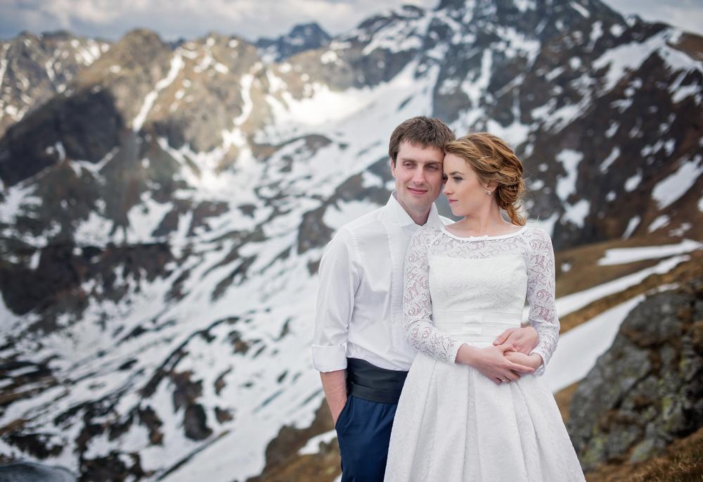 Sesja ślubna w Tatrach - Liliana i Piotr 10