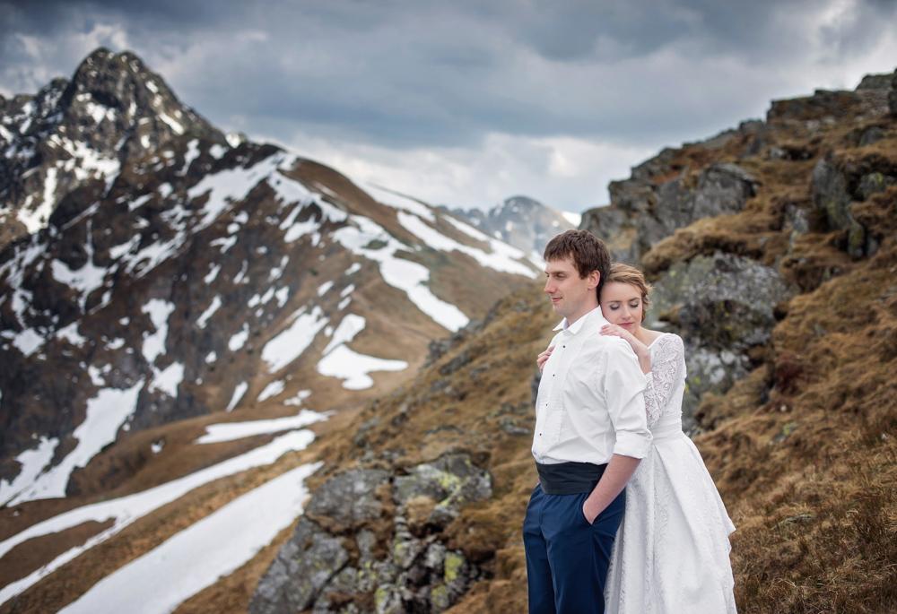 Sesja ślubna w Tatrach - Liliana i Piotr 11