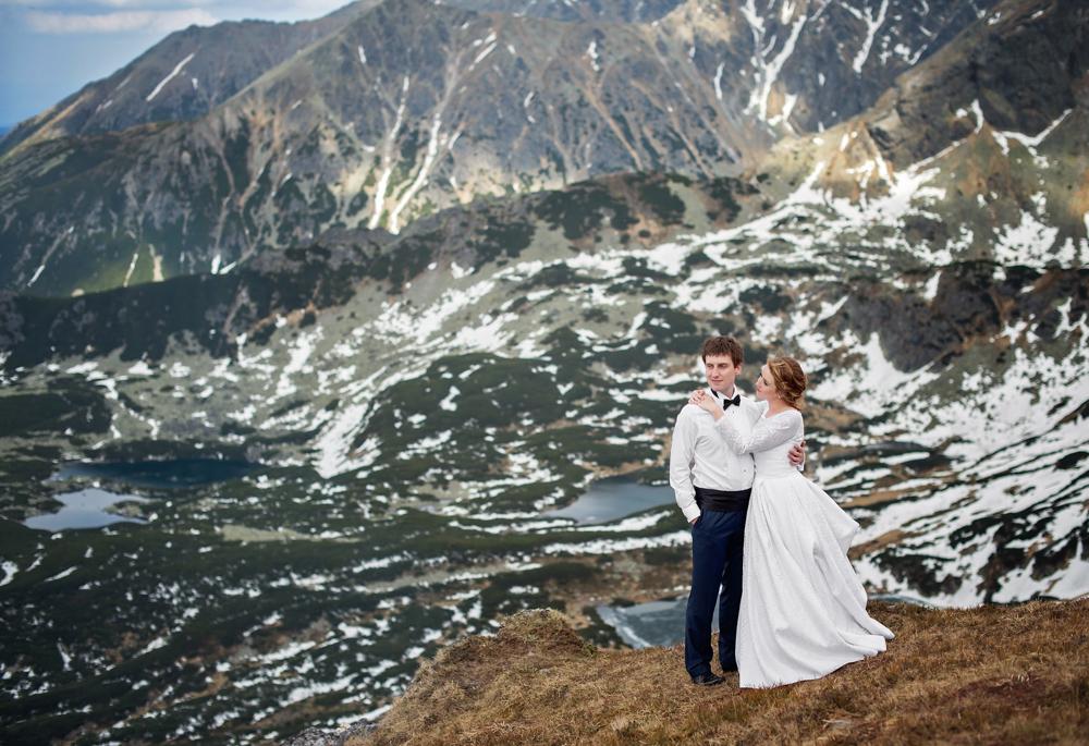 Sesja ślubna w Tatrach - Liliana i Piotr 12