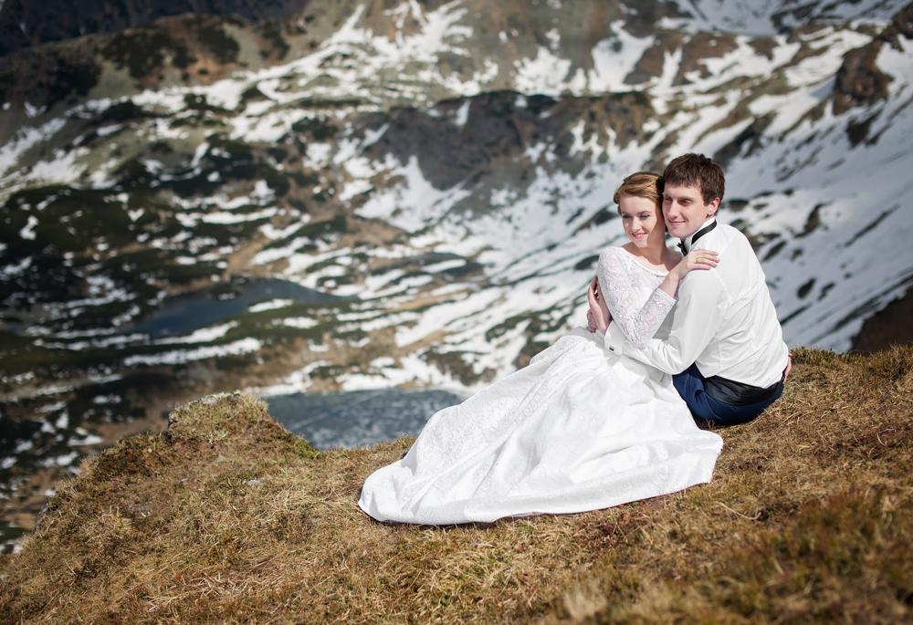 Sesja ślubna w Tatrach - Liliana i Piotr 13
