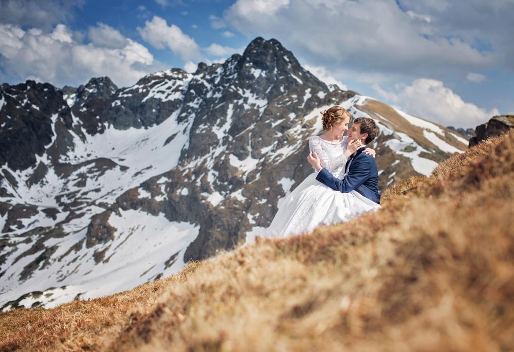 Sesja ślubna w Tatrach - Liliana i Piotr 17