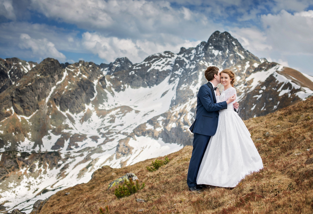 Zdjęcia ślubne w Tatrach - Liliana i Piotr