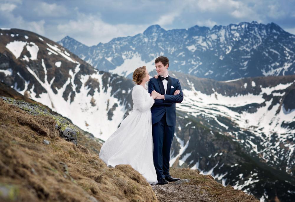 Sesja ślubna Tatry - Liliana i Piotr 2