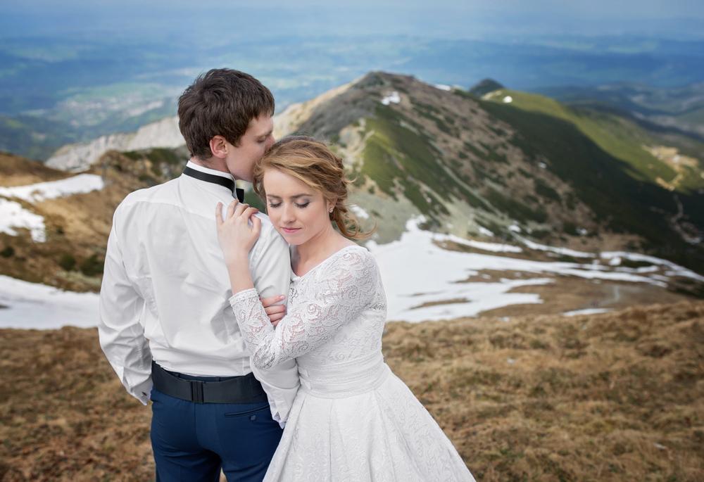 Plener ślubny w Tatrach - Liliana i Piotr 3
