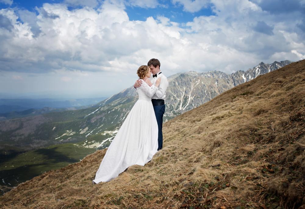 Plener ślubny w Tatrach - Liliana i Piotr 2