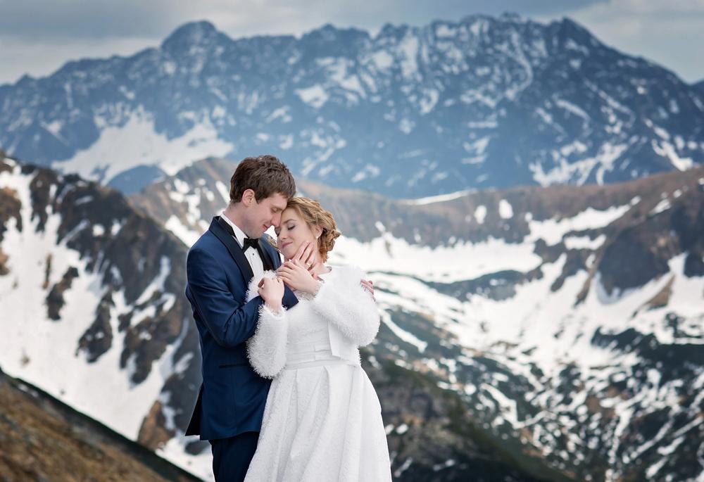 Plener ślubny w Tatrach - Liliana i Piotr 1