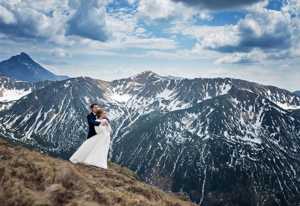 Sesja ślubna Tatry - Liliana i Piotr 4