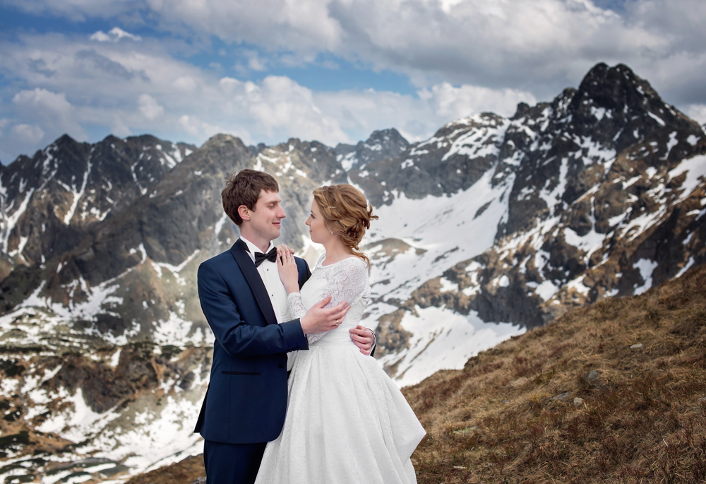 Zdjęcia ślubne w Tatrach - Liliana i Piotr 1