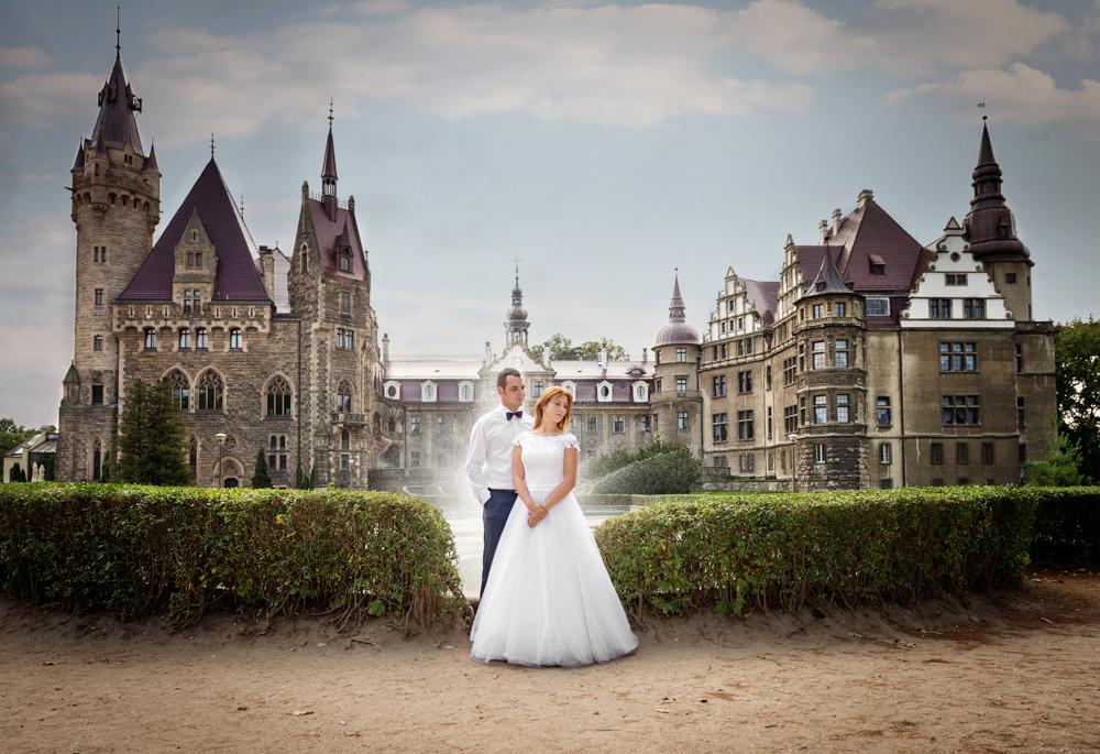 Zamek Moszna - Wioletta i Jakub